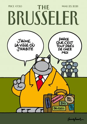 Philippe Geluck The Brusseler