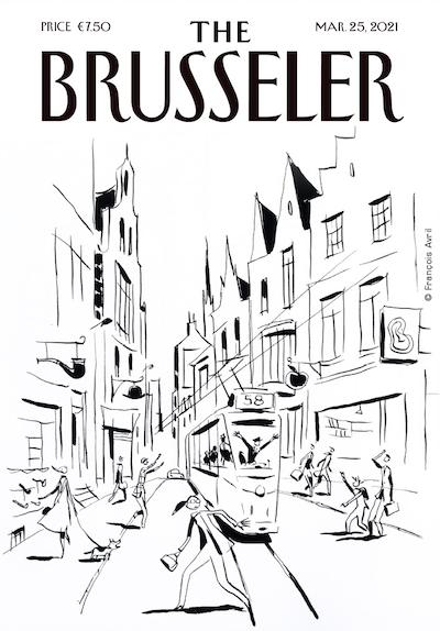 François Avril The Brusseler Oeuvre Tram